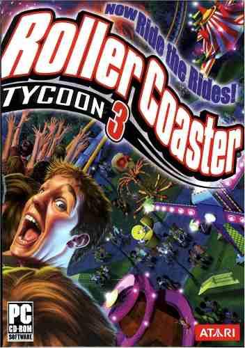 Roller Coaster Tycoon 3 Juego Para Pc Vv4
