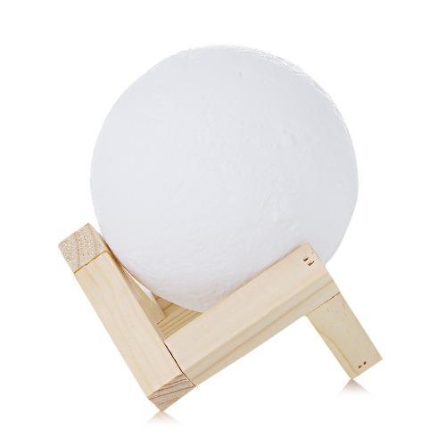 15cm Lámpara De Luna 3d Ue3d Recargable Táctil Decoracion