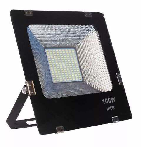 4 Piezas Reflector Led 100 Watts Ip66 Ultra Brillante