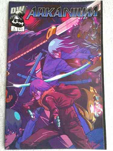 Arkanium # 1 Dreamwave Comics En Ingles Manga Avengers Spawn