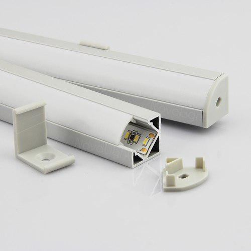 Bal-a015 Perfil De Aluminio Para Tiras Led - 2mt (esquinero)