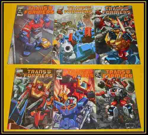Ccc21 Dreamwave Comics Transformers Optimus Prime Megatron