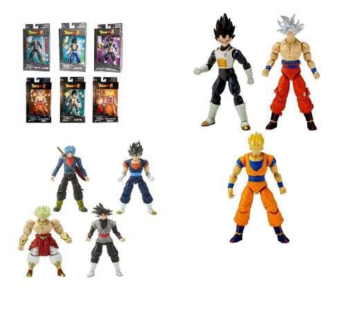 Dragon Ball Stars Series 6pzs Completa Baf Broly Goku Ultra