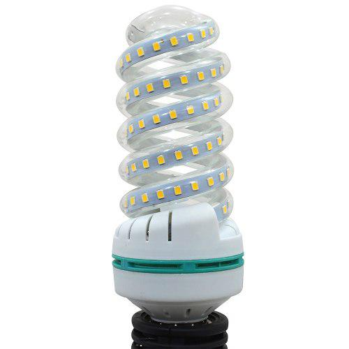 Foco Lampara Espiral De 20 W Luz Led Blanca Alta Luminosida