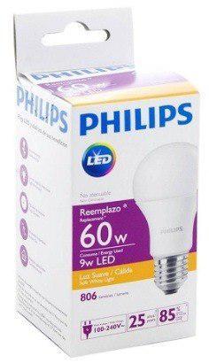 Foco Led 9w Philips 110-240v Luz Cálida