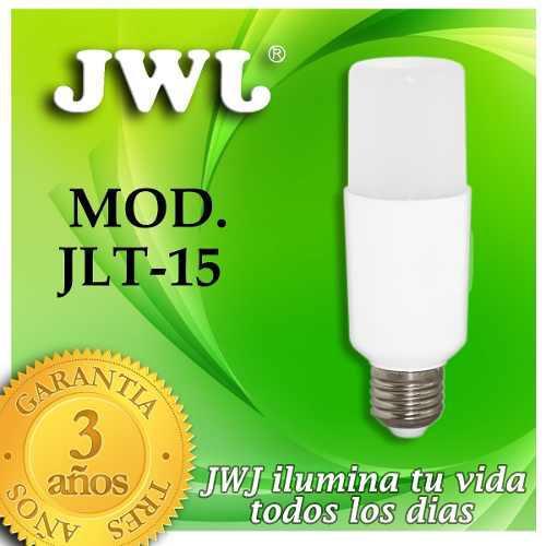 Foco Led Tubular Omnidireccional 15w - Luz Blanca Jwj