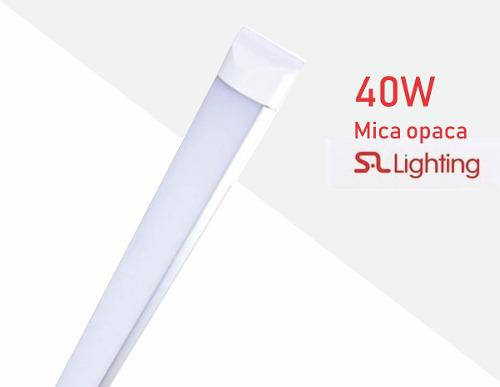 Gabinete Led Slim De 36w/40w Mica Opaca Oferta!