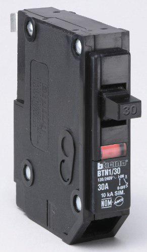 Interruptor Electrico Termomagnetico 1x30 Am Bticino Btn1/30