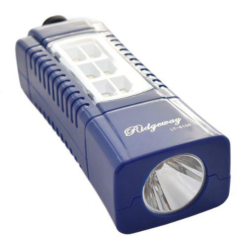 Lampara Emergencia Recargable Led Reflec Linterna Lt-6106 /e