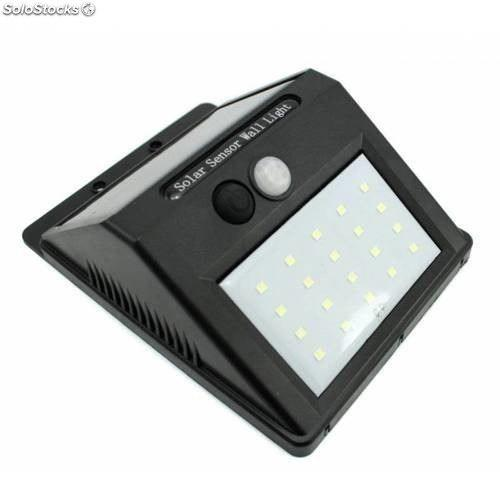 Lampara Energía Solar Led Sensor Interior O Exterior /e