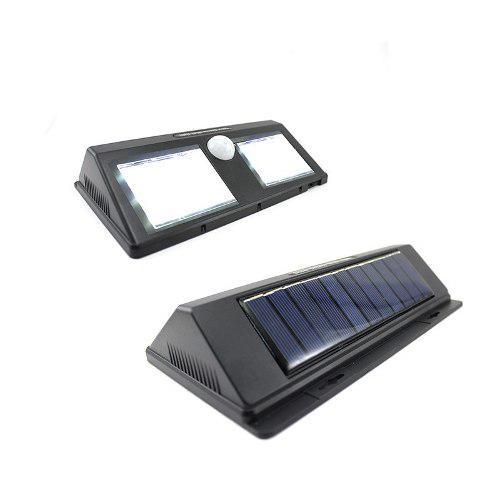 Lampara Exterior Solar Sensor Movimiento Noche 48 Leds