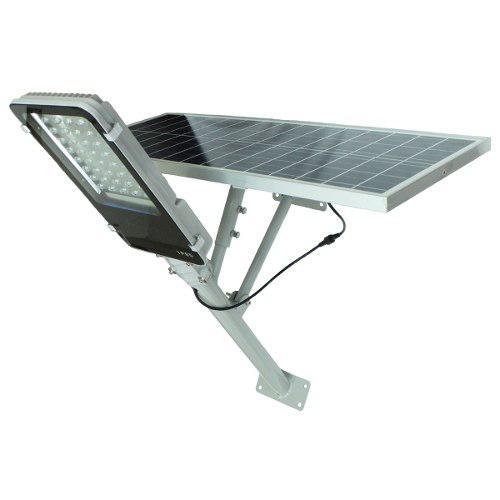 Lampara Led 40w Panel Solar Alumbrado Publico Suburbana