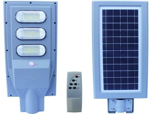Lampara Led 90w Panel Solar Alumbrado Publico Control Remoto