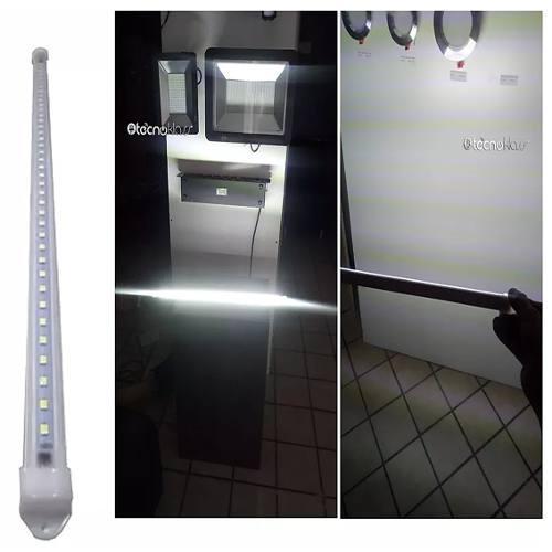 Lampara Led 9w 60cm 12m Garantia Focos Luces Casas Oficina