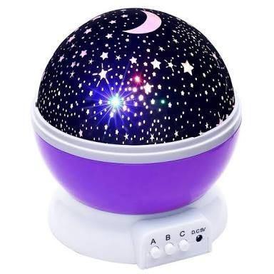 Lampara Led Colores Proyector Unicornio Star