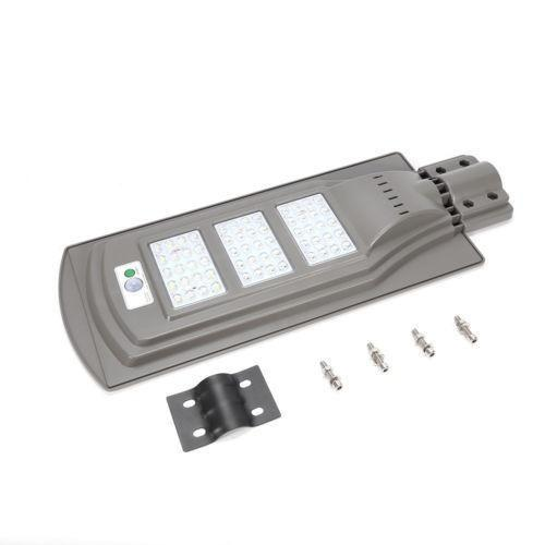 Lampara Led Urbana, Panel Solar, Sensor De Movimiento 60 W