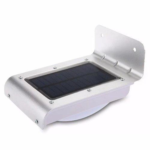Lampara Para Jardin Solar Con Sensor De Movimiento