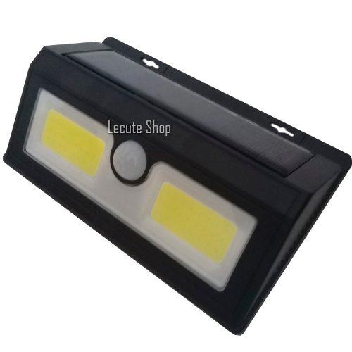 Lampara Reflector 40 Led Solar Sensor De Movimiento Recarga