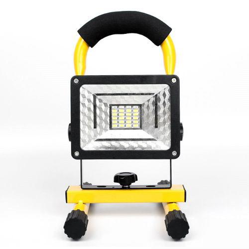 Lampara Reflector Led Linterna 30w Recargable Campismo