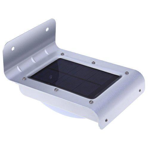 Lampara Solar Con Sensor De Movimiento Luz Exterior Jardín