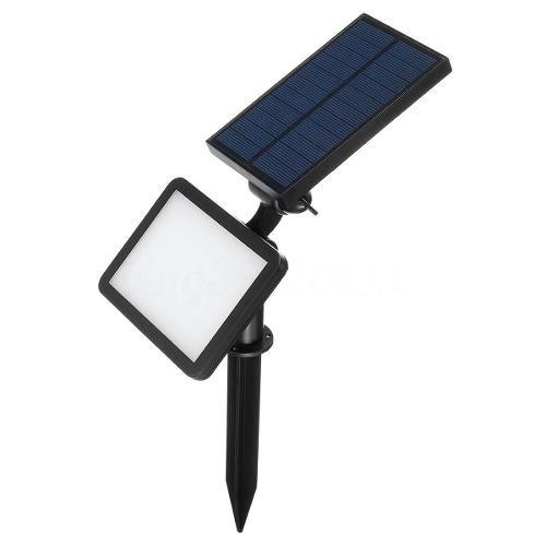 Lampara Solar Dobe Proposito Pared Y Jardín 48 Led Blancos