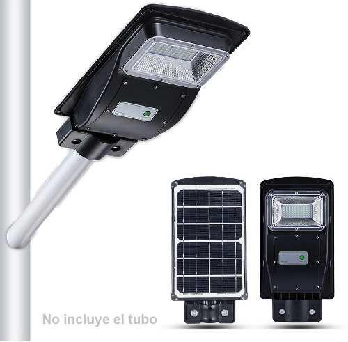 Lampara Solar Led Blancos Para Alumbrado Publico Grande
