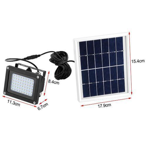 Lampara Solar, Reflector Solar 56 Leds Envio Gratis