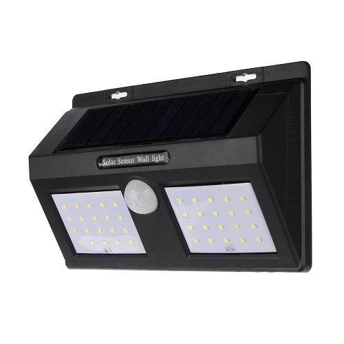 Lamparas Solares Exterior Pared Led Sensor Movimiento Noche