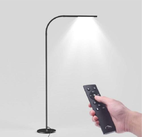 Lámpara De Pie Piso Táctil/remoto 360° Moderna Envío