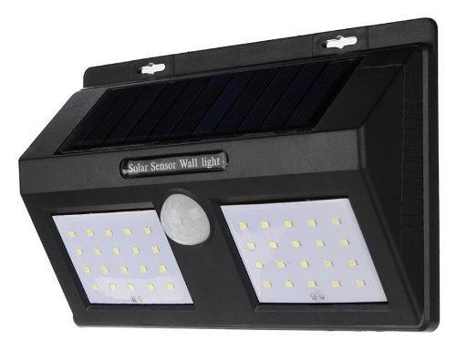 Lámpara Solar 40 Leds Sensor Movimiento Exterior Waterproof