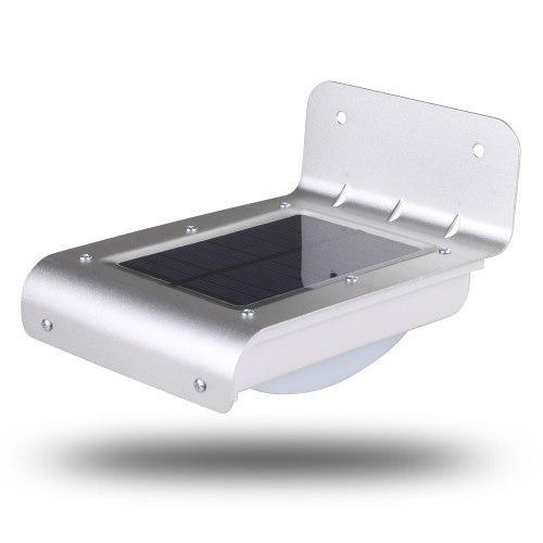 Lámpara Solar Led Sensor De Luz Y Sensor De Movimiento