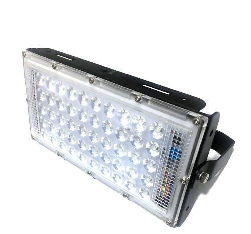 Lote 3 Piezas Reflector Led 50w Exterior Mega Luz Brillante