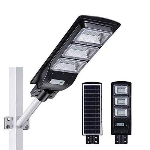 Luminaria Led 60w C/panel Solar Lampara Alumbrado Publico
