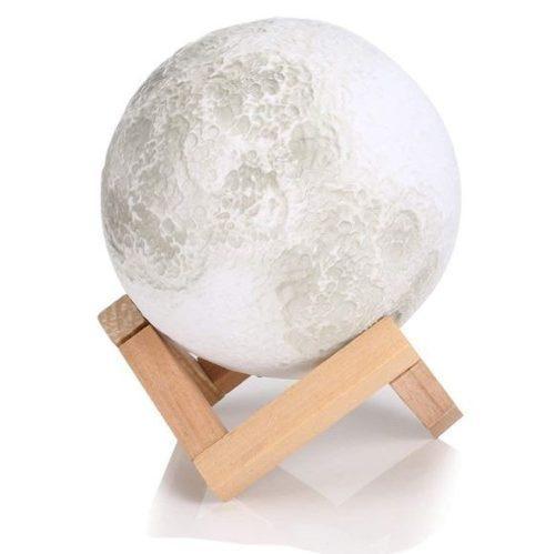 Moonlight Luna 3d Lampara De Buro Escritorio 7 Colores 18cm!