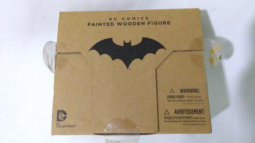 Painted Wooden Figure Dc Comics Batman Figura D Madera Nueva