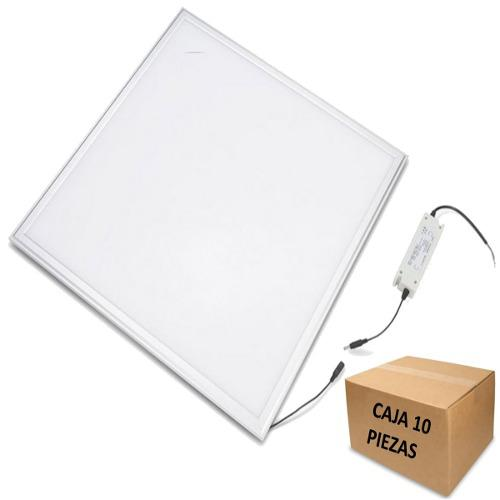 Panel 60x60 Led 50w Bco O Calido Mayoreo 10 Pza Envio Gratis