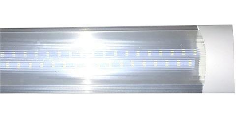 Paquete 10 Piezas Lampara Transparente Integrada Doble 40w