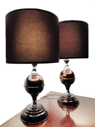Par Lámparas De Acero Luz Led Para Buró Modelo #13