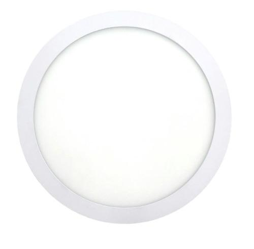 Plafon Led Sobreponer 12w Luz Blanca
