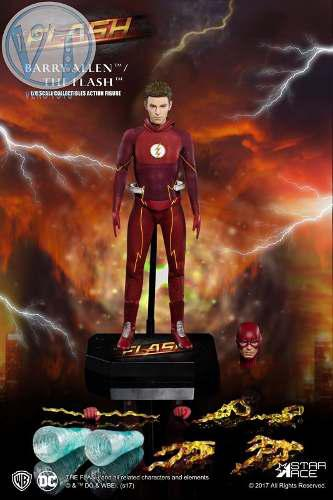 Real Master Series Dc Comics: The Flash 1/8 Deluxe