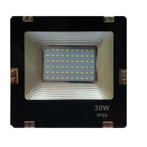 Reflector Led 30 Watts Ultradelgado Ip66 Altaluminosidad 30w