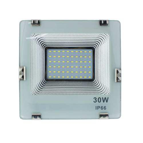 Reflector Led 30w Luz Blanca Fria Exterior Ip66 Exteriores