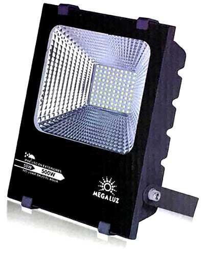 Reflector Led 50w Exterior Megaluz Aluminio No Lamina