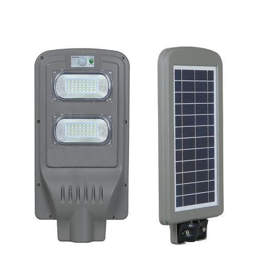 Reflector Led Urbano, Panel Solar, Sensor De Movimiento 40 W