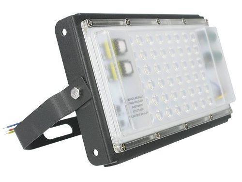 Reflector Luminario Led 50w Potente Iluminación 3600 Lumens