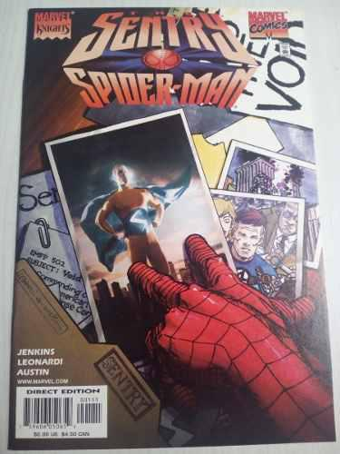 Sentry Spiderman # 1 Marvel Comics En Ingles Manga Anime