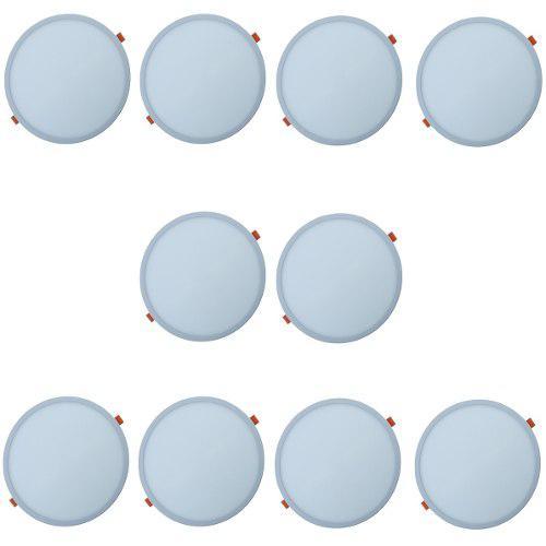 Spot Led 20w Plafon Ajustable Caja Bote Integral 10 Lamparas