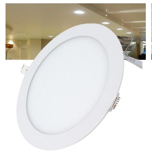 Spot Led 24w Panel Slim Foco Plafon Empotrado Luces Casa