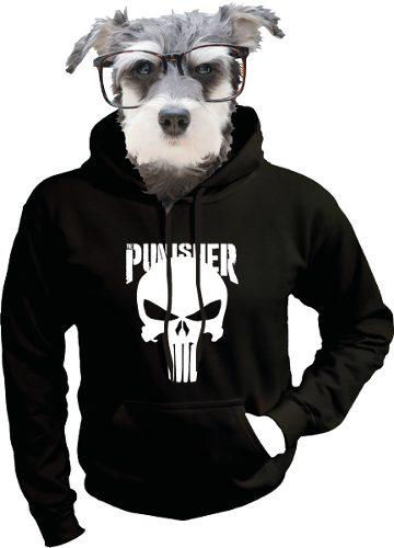 Sudadera De Punisher Frank Castle Marvel Comics
