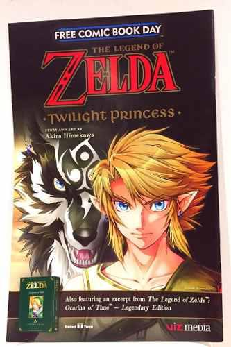 The Legend Of Zelda (free Comic Book Day) 2018